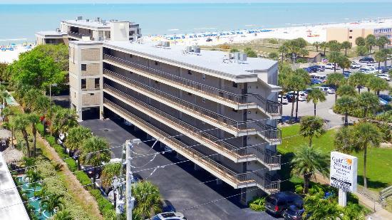 Side View Of Gulf Strand Resort
