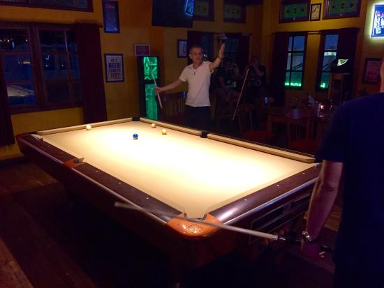 Double Doors Bar U0026 Restaurant: The New Pool Table Felt. Itu0027s Gorgeous In  Elegant