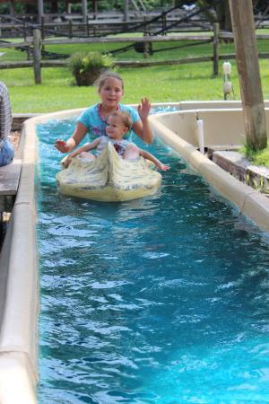 Donley's Wild West Town: Canoe Ride