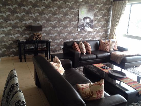 Gordon's Bay, Sudáfrica: Living room