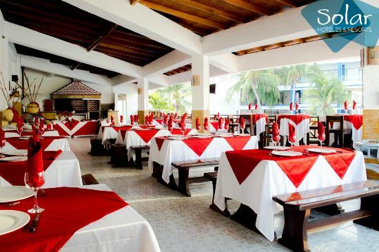 Sol Caribe San Andres: Restaurante Barbacoa - Especialidad Parrilla.