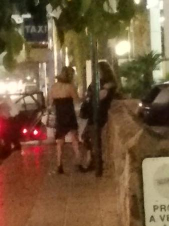 SENTIDO Gran Canaria Princess: Prostitutes hang around  the hotel gates every night and on street opposite.