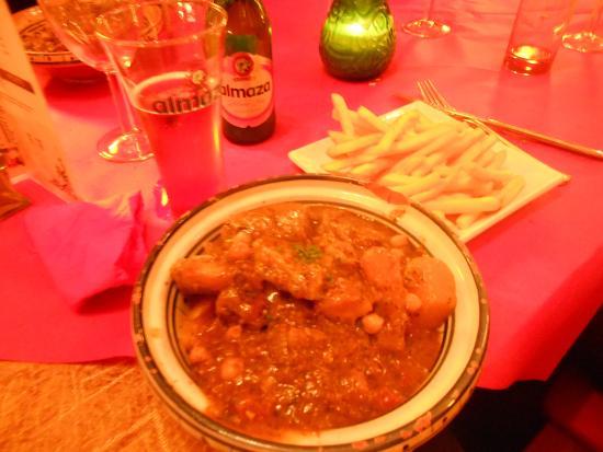 Mina Restaurant: Lamb couscous
