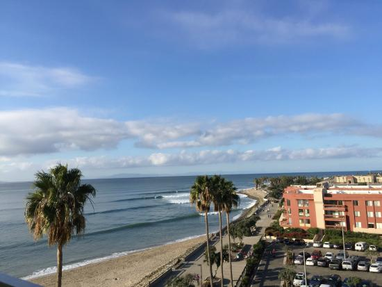 Ventura Pier And Promenade The From 7th Floor Of Crown Hotel