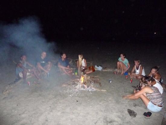 Cabanas Rolo: Beach
