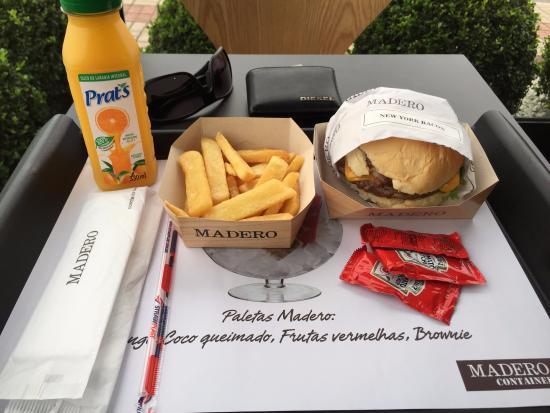 Madero bacon burguer fotograf a de madero joinville for Cocinas schmidt opiniones