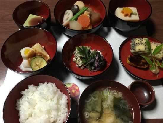 Tsubame, Japan: 精進料理