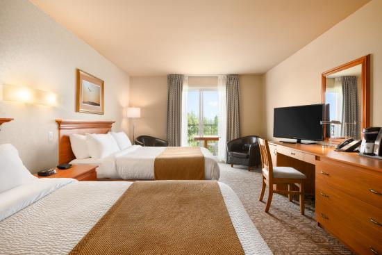 Days Inn - Riviere-du-Loup : Two Queen Bed
