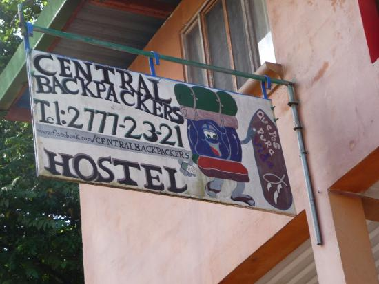 Central Backpackers Quepos: Hostel map