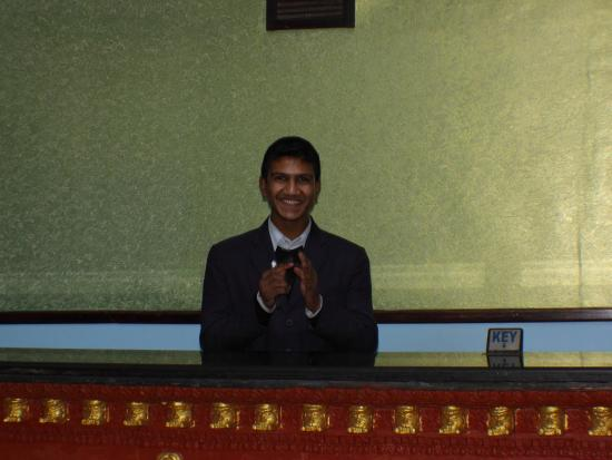 Hotel Access Nepal : The friendly reception