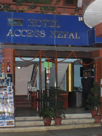 Hotel Access Nepal: Entrance