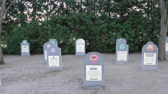 Ben & Jerry's: Flavor Graveyard