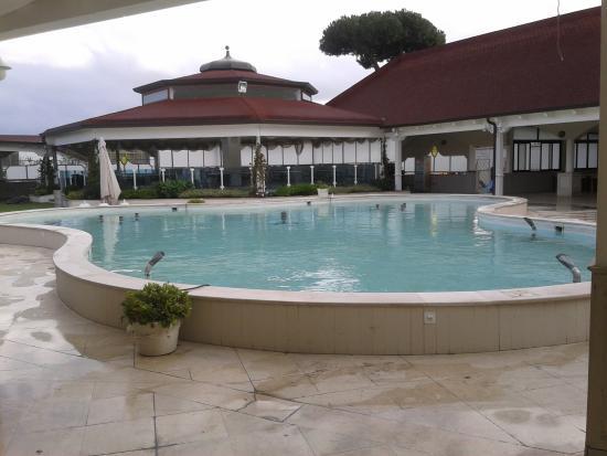 Hotel Ristorante La Lanterna: Zona polifunzionale estrerna