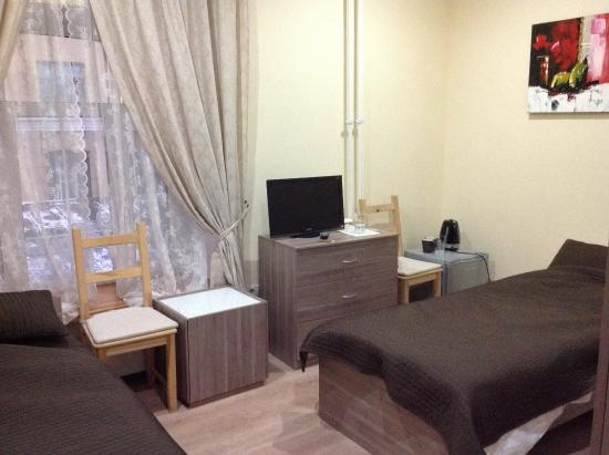 Mayakovka House: Стандартный номер с двумя раздельными кроватями