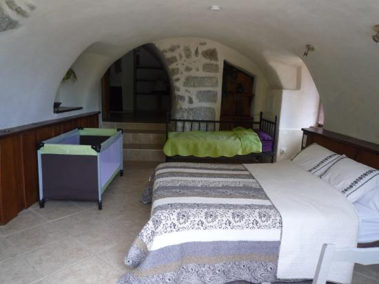 Balazuc, Francia: Notre chambre