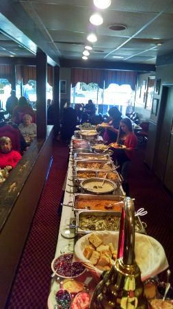 Black Angus Restaurant Thanksgiving Buffet No Frills But Good