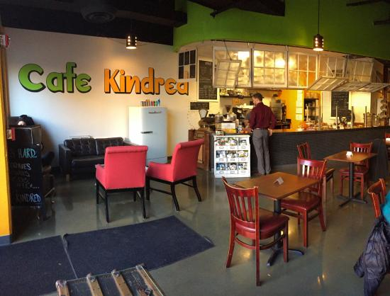 Cafe Kindred And Townshend Bar