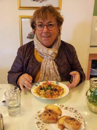 Eden Jerusalem Hotel: Dégustation d'un potage persan végétarien délicieux !