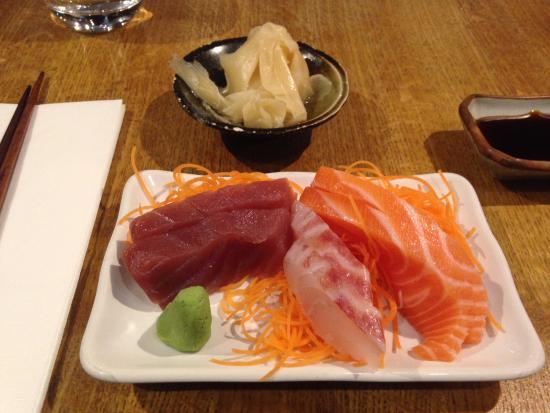 Osaka: sashimi