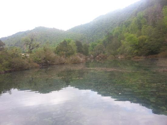 Embalse Bullileo: Afluente rio Bullielo