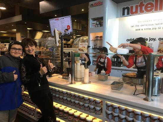 Nutella Cafe Toronto Downtown West Restaurant Reviews