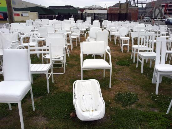 Temporary Art Istallation Picture Of 185 Empty White