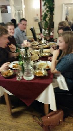 Long Eaton, UK: Celebration at mount gurkha spice