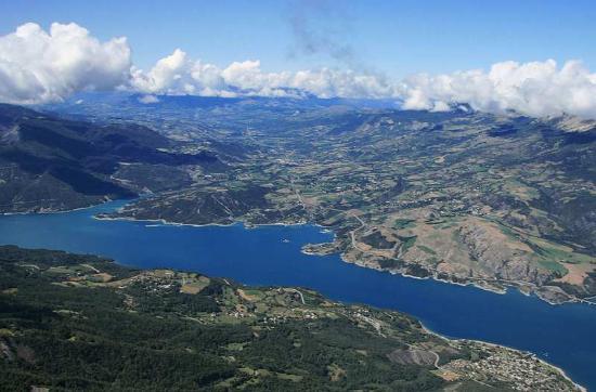 Lac Serre Poncon : Haus meter vom lac de serre ponçon ge fewo direkt