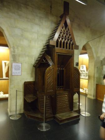 Wooden Confessional 1898 Crypt of La Sagrada Famlia Picture of