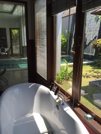 Amor Bali Villa : Bath views