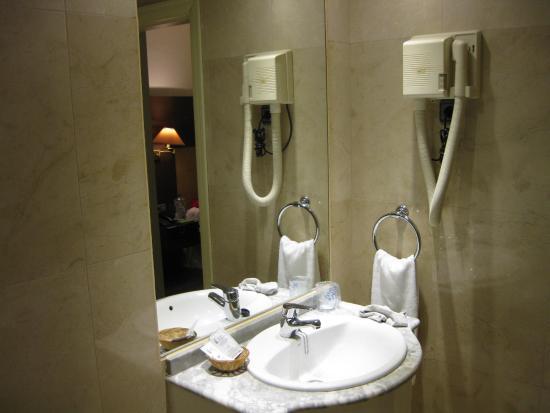 Hotel Madrid Torrejon Plaza : Baño 1