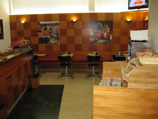 Hotel Madrid Torrejon Plaza : Zona buffet 1