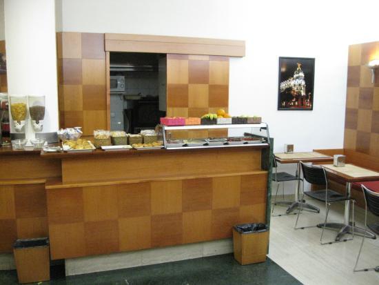 Hotel Madrid Torrejon Plaza : Zona buffet 2