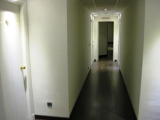 Hotel Madrid Torrejon Plaza : Pasillo de las habitaciones