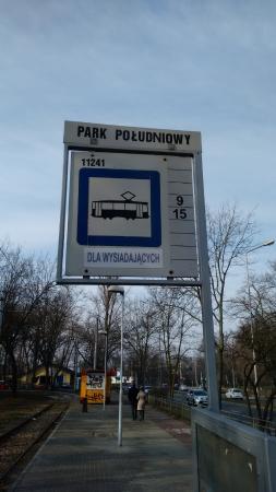 Ibis Budget Wroclaw Poludnie: Tram stop