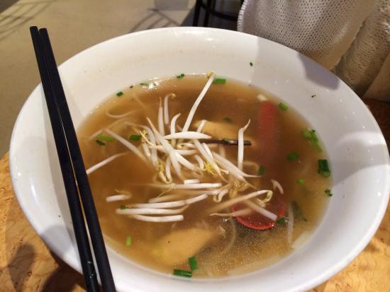 Lyla : Soupe Tonkinoise, désolé à moitié mangée ( trop bon)