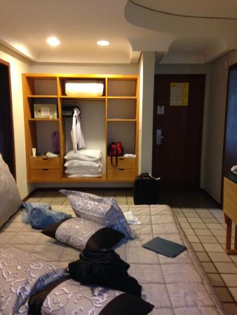 Falls Galli Hotel: Cama bem confortável