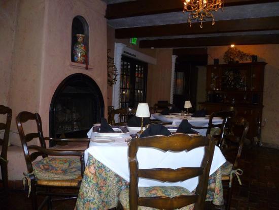 Europa Restaurant: Table 4 in the restaurant