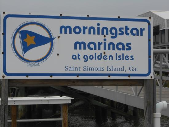 Morningstar Marina at Golden Isles - Boat Rentals: Sign