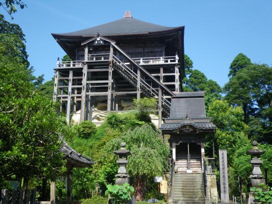 Kasamori-ji Temple: 日本で唯一の四方縣造り