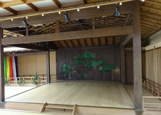 Kuraki Noh Stage
