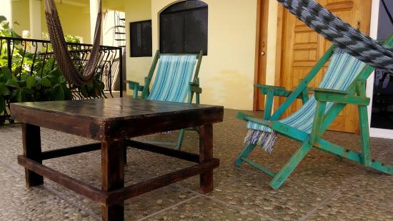 Casa Chicatana: Terraza