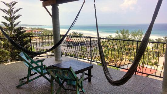 Casa Chicatana: Vista al mar de Zicatela