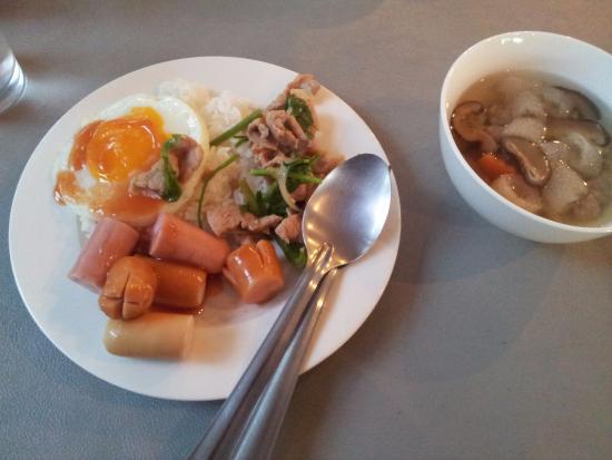 Park Inn Chiangrai : อาหารเช้า