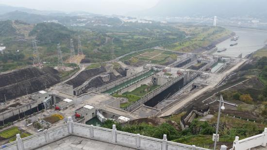 Chongqing Three Gorges Dam : Dam