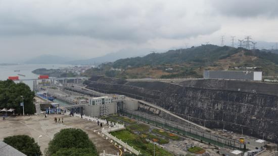 Chongqing Three Gorges Dam : Awesome view