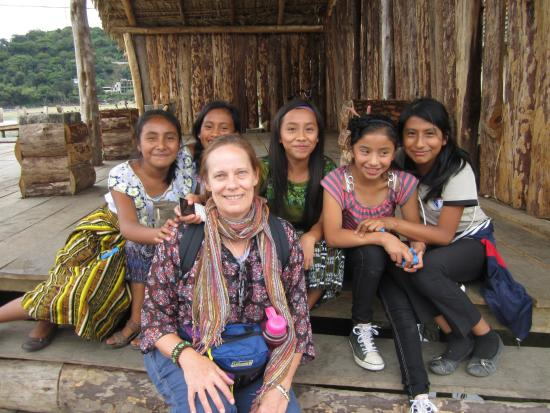 Eco Hotel Uxlabil Atitlan: Mayan Girls and Me