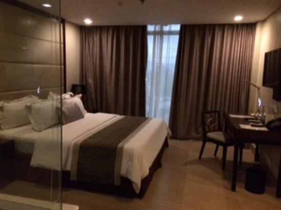 Goldberry Suites & Hotel: 部屋は広く新しい