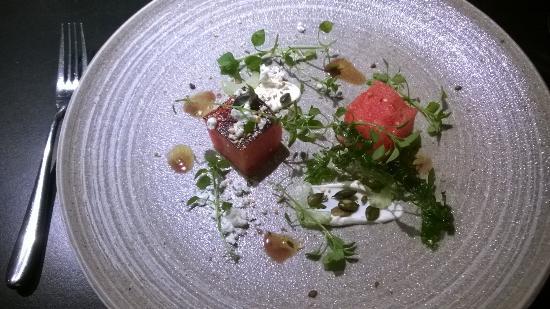 Tuddenham Mill: Wonderful watermelon starter