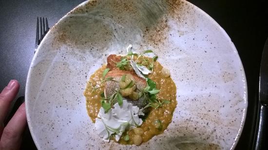 Tuddenham Mill: Black bream curry - star of the show IMO